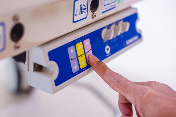 étiquette adhésive interface de commande