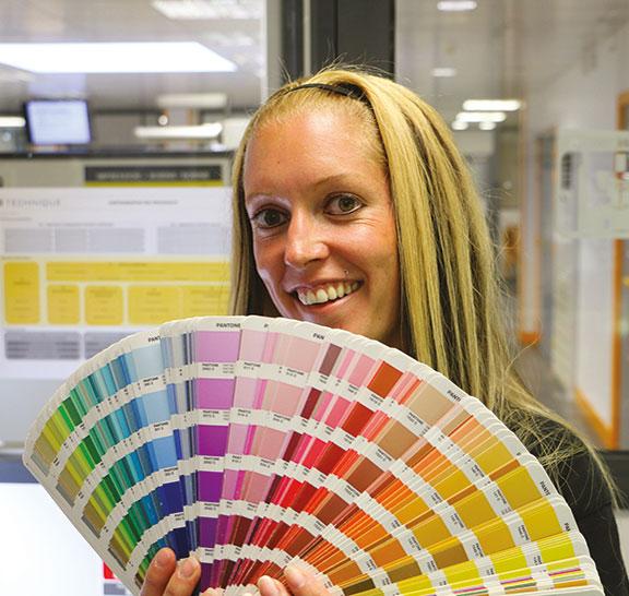 Impression sérigraphie couleurs