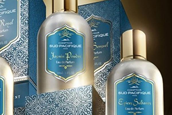 Impression sérigraphie étiquette parfum