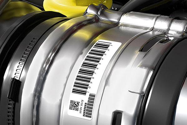 étiquette adhésive Marquage industriel