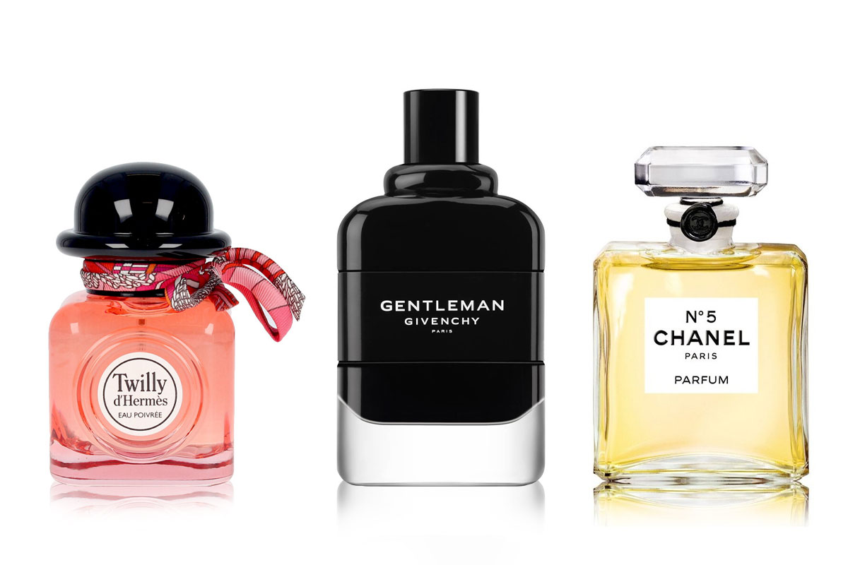 Etiquettes-parfum-hermes-givenchy-chanel